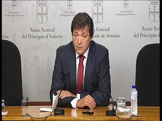 Javier Fernández, presidente electo del Principado de Asturias