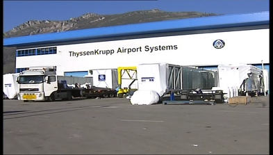 Thyssenkrupp airport systems baiña