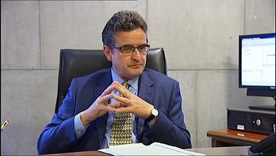 El presidente de la Audiencia Provincial de Asturias José Antonio Soto-Jove